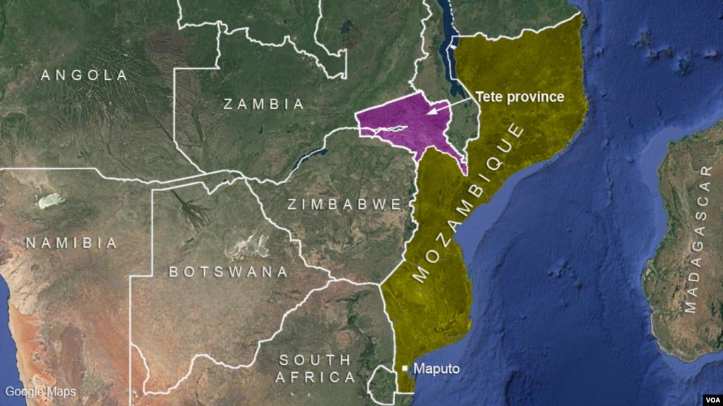La province de Tete au Mozambique