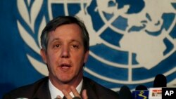 Anthony Banbury, kepala misi PBB untuk tanggap darurat Ebola (Foto: dok).