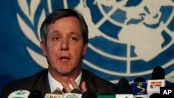 聯合國伊波拉應急小組負責人安東尼 • 班伯里。(資料圖片)