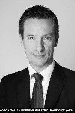 Italy's ambassador to the Democratic Republic of Congo, Luca Attanasio.