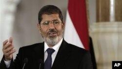 Tổng thống Ai Cập Mohammed Morsi