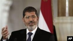 埃及总统穆尔西(资料照)