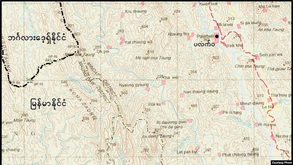 Rakhine Map