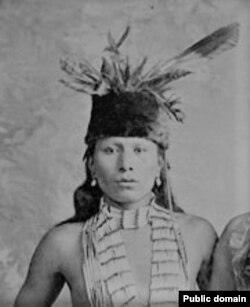 Oglala Lakota spiritual leader Nicholas Black Elk, 1887.