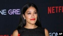 En esta foto del 17 de abril del 2019, la actriz Gina Rodríguez asiste a una función especial de