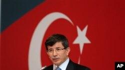 아메드 다부토글루 터키 외무장관 (자료사진)