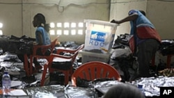 Compilation des voix à Kinshasa en décembre 2011 (Archives)