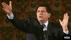 Alan García, fue elegido presidente de Perú en 1985 a la edad de 35 años.