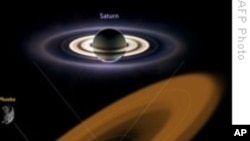 Massive New Ring Detected Around Saturn