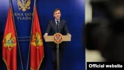 Crnogorski ministar finansija Radoje Žugić (gov.me)