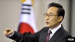 Presiden Korea Selatan Lee Myung-Bak (Foto: dok)