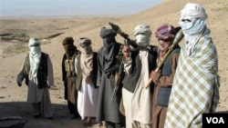 Kelompok militan Taliban di Afghanistan.
