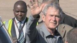 Former President Bush Visits Zambia