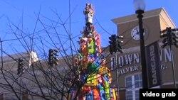 聖誕玩具樹