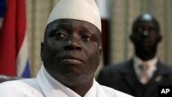 Le président gambien Yahya Jammeh, Banjul, Gambie, septembre 2006