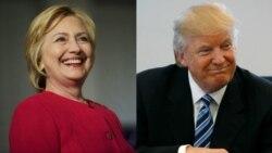 Trump မဲဆြယ္လႈပ္႐ွားမႈ အေျပာင္းအလဲ Clinton တုန္႔ျပန္