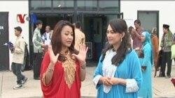 Sholat Idul Fitri Warga Indonesia di Washington - Apa Kabar Amerika 20 Agustus 2012