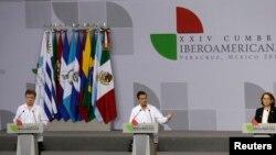 La Cumbre Iberoamericana en Veracruz recibió un revelador informe de la Cepal.