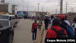 Paralisação dos trabalhadores da Sonils, Luanda