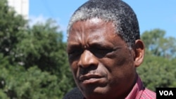 Umongameli wenhlanganiso ye Zimbabwe Rugby Union, uNyararai Sibanda.