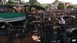 رواں ہفتے ہی یروشلم میں ایک بس پر حملہ ہوا تھا۔