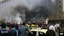 Damashqda portlash, Suriya, 8-aprel, 2013-yil