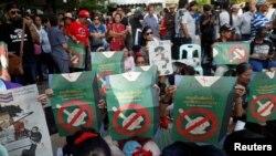 Gangamin tilastawa Firayim MinistanThailand Prayuth Chan-ocha ya gudanar da zaben mayar da kasar mulkin dimokradiya.