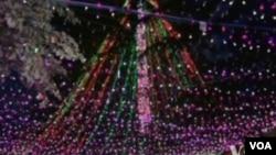 Gia đình Richards ở Canberra lập kỷ lục về đèn Giáng Sinh, trang trí nhà của họ bằng 502.165 chiếc đèn lấp lánh
