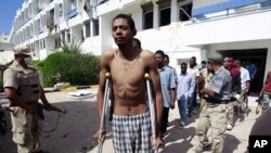 星期天效忠卡扎菲的支持者在蘇爾特的一所醫院被反卡扎菲戰鬥人員發現