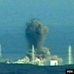 Dim iz jednog od reaktora u nuklearnoj elektrani Fukushima Daiichi u Japanu