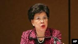Tổng Giám đốc Tổ chức Y tế Thế giới, bà Margaret Chan, tuyên bố tình trạng khẩn cấp y tế quốc tế vì dịch Ebola ở các nước Tây Phi