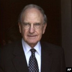 US Mideast envoy George Mitchell (file photo)
