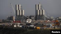欣克利角C核电站项目工地(资料照片)