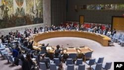 联合国安理会在开会(资料照片)