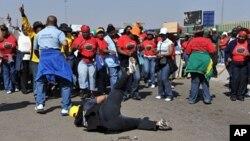 南非公务员罢工,要求增加工资