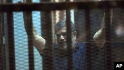 埃及前总统穆尔西(资料照片)