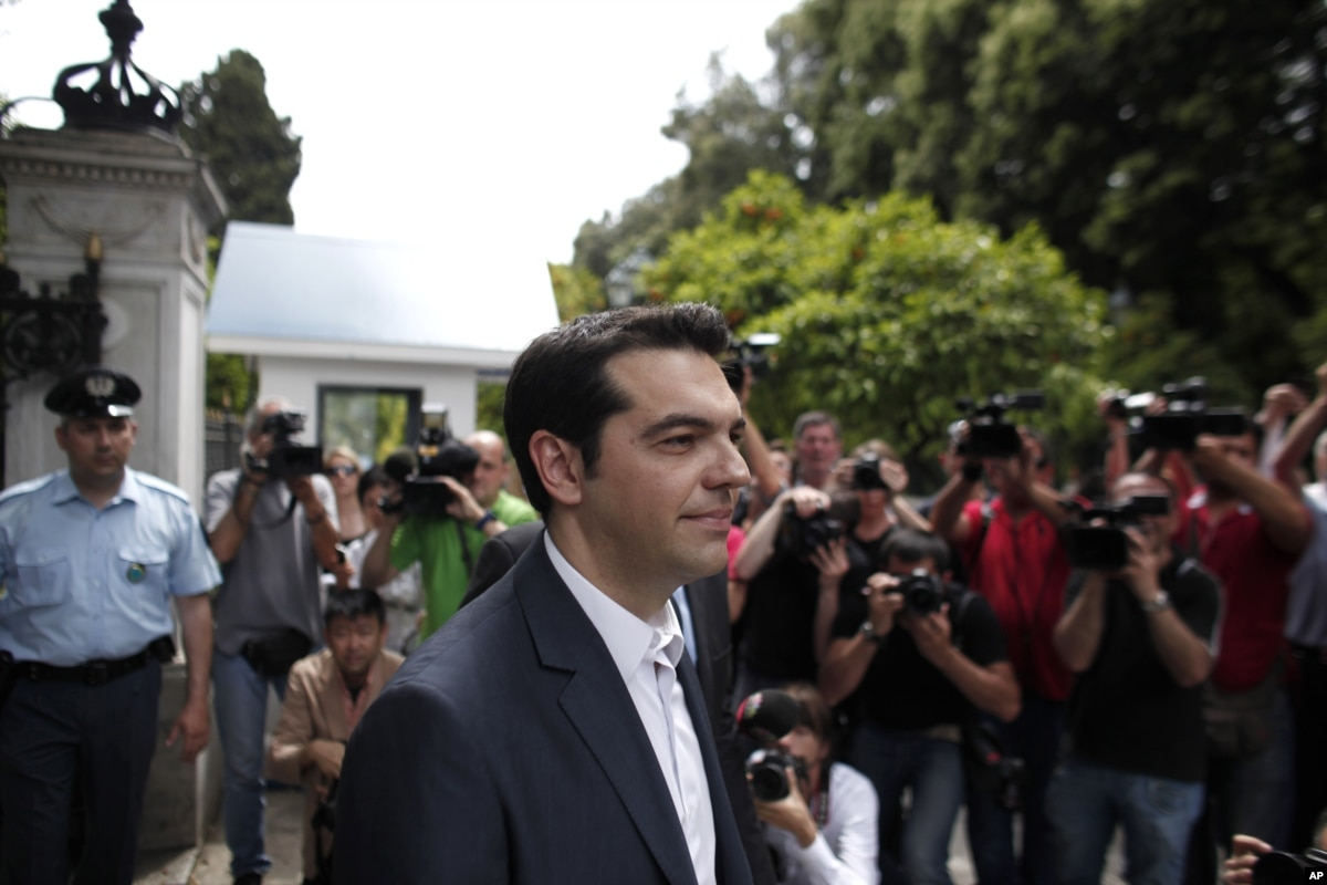 left wing leader alexis tsipras - 800×533