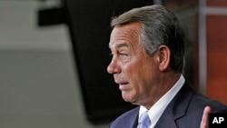 House Speaker John Boehner on Capitol Hill in Washington , May 16, 2013.