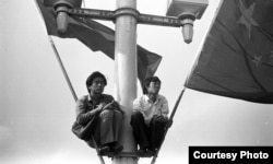 1989天安门广场上的运动参与者