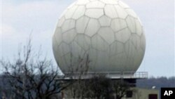 프라하에 설치돼 있는 방공 레이더 기지