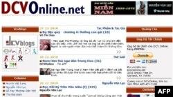 Hình trang DCVOnline ngày 27/12/2010