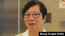 台湾执政党国民党立委罗淑蕾(美国之音张永泰拍摄)