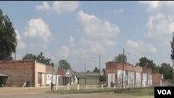 Osiromašeni gradić Tutwiler u američkoj saveznoj državi Mississippi