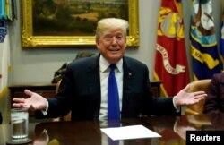 Presidente de EE.UU., Donald Trump.