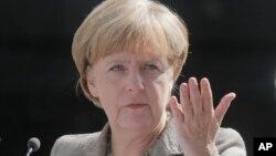 Kanselir Jerman Angela Merkel mengatakan tidak akan mengirim pasukan tempur ke Irak (foto: dok).