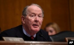 FILE - Senate Health, Education, Labor and Pensions Committee Chairman Sen. Lamar Alexander, R-Tenn. speaks on Capitol Hill, Jan. 12, 2016.
