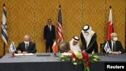 بحرین اور اسرائیل کے درمیان سفارتی تعلقات کے قیام کے معاہدے پر دستخط ہو رہے ہیں۔ 18 اکتوبر 2020