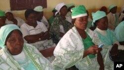 Mulheres metodistas no Namibe