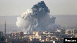 Бої за місто Кобані