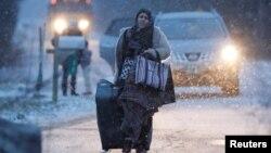 زمستان گذشته و پس از پیروزی دونالد ترمپ در انتخابات امریکا، شمار زیاد پناهجویان از امریکا به کانادا فرار کردند